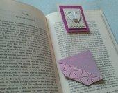 Boat square bookmarks