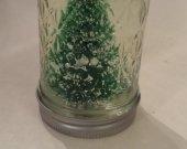 Unique Mason Jar Snowglobes