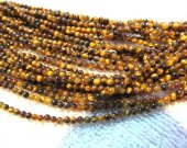 genuine tiger eye stone beads 2mm 5strands 16inch strand ,wholesale round ball jewelry beads