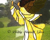 Stained Glass Panel - Angel of Triumph