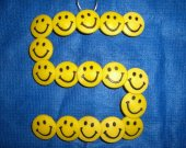 One Wall Hanging Smile Shoe Charms Wire Letter S