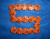 One Wall Hanging Basketball Shoe Charms Wire Letter S