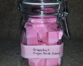 Great Smelling Grapefruit Sugar Exfoliating Bath/Shower Cubes