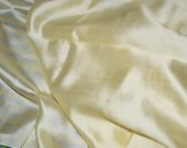 Off White Sheer Pure Silk Fabric, Silk Dresses Costume Apparel Fabric Pure Indian Silk Fabric By Fat Quarter