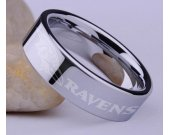 Football Baltimore Ravens NFL Stainless Steel Ring