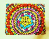 Bohemian Style Flower Painting