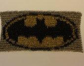 Batman Emblem Chainmaille Inlay