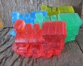 Fun Glycerin 3D Train Soap for Children