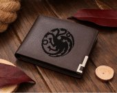 Game of throne House Targaryen  Leather Wallet