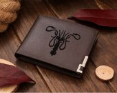 Game Of Thrones House Greyjoy  Leather Wallet