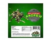 TMNT Teenage Mutant Ninja Turtles Candy Bar Wrappers